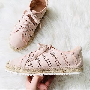 Marc Fisher Blush Pink Baila Espadrille Sneakers